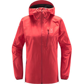 Haglöfs L.I.M Jacket Women, hibiscus red